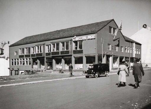 Forretningsgård for Gustav F.Moe