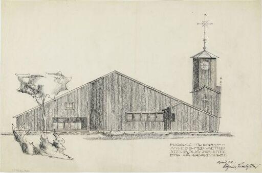 Utkast til Gravberget kirke