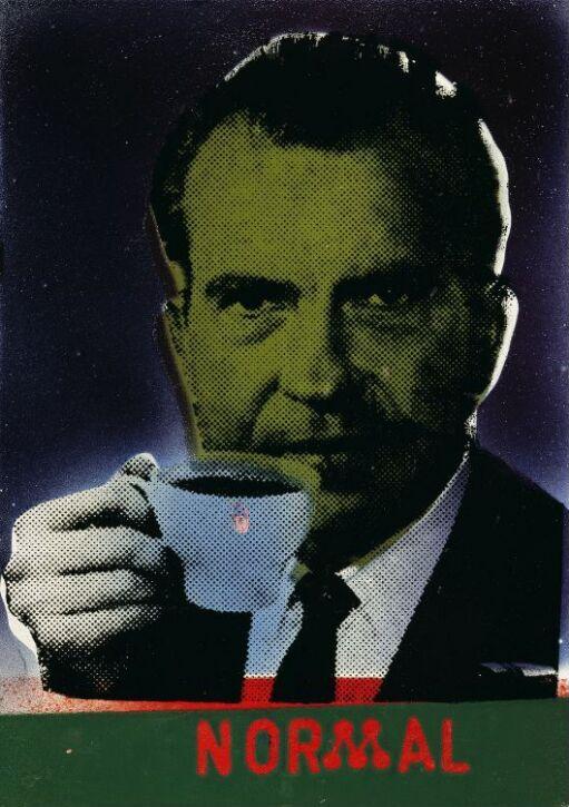 Normal (fra serien Nixon-emaljer)