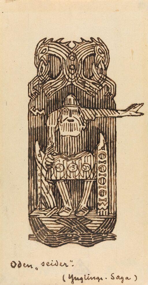 Odin øver seid
