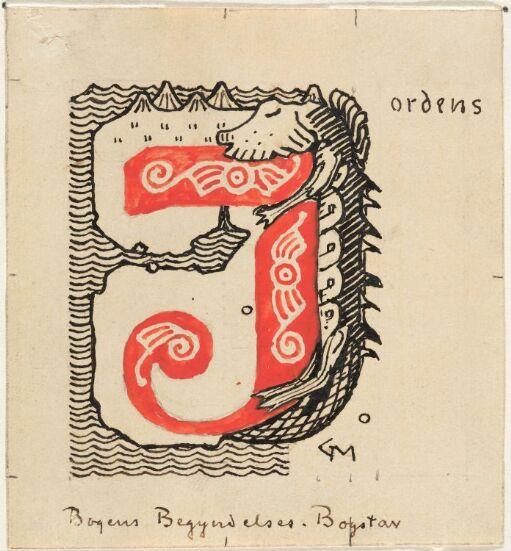"""Til """"Ynglinge-Saga"""" i  Snorre Sturlason, Kongesagaer, Kristiania 1899"""
