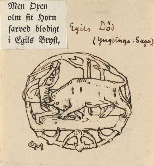 Kong Egils død