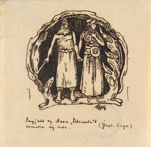 Kong Ingjald og Åsa Illråde