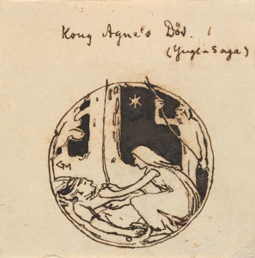 Kong Agnes død