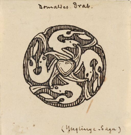 Kong Øystein og hans hird brant inne