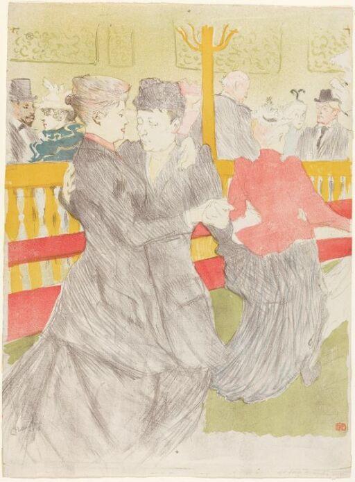 Dans på Moulin Rouge