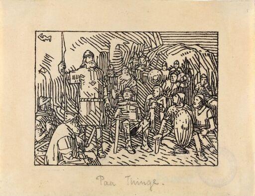 Kong Olav stevnte ting med bøndene