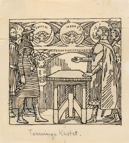 "Til ""Olav den helliges saga"" i Snorre Sturlason, Kongesagaer, Kristiania 1899"
