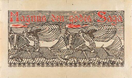 Titteldekorasjon, Magnus den godes saga