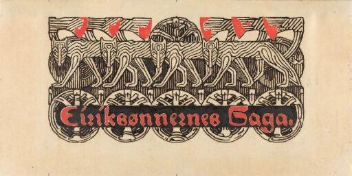 Til Snorre Sturlason, Kongesagaer, Kristiania 1899