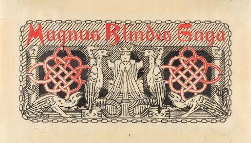 Titteldekorasjon, Magnus Blindes saga