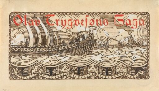 Titteldekorasjon, Olav Tryggvasons saga