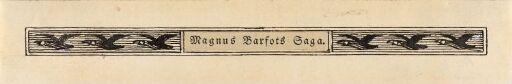 Bord, Magnus Barfots saga