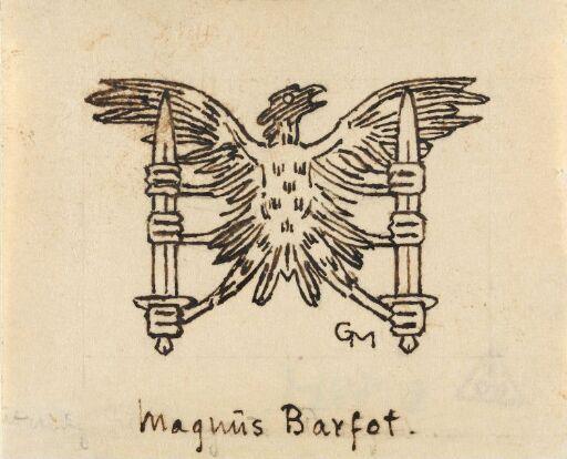 Sluttvignett, Magnus Barfots saga