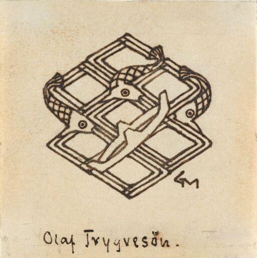 Sluttvignett, Olav Tryggvasons saga