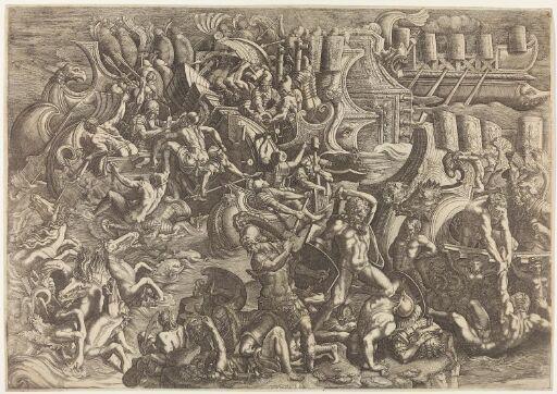 Trojans repelling the Greeks