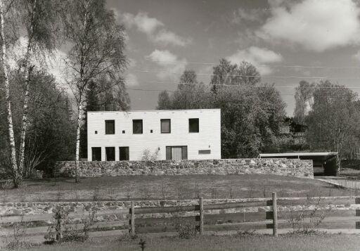 Arkitekt Gunnar Fougners eget hus