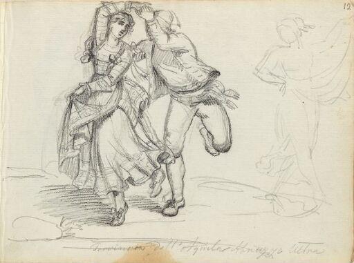 Figure Studies; Dancers in Abruzzo