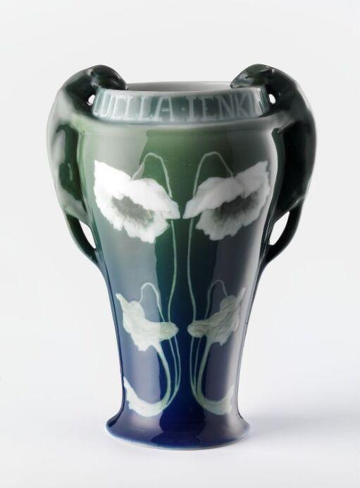 Vase m. panther