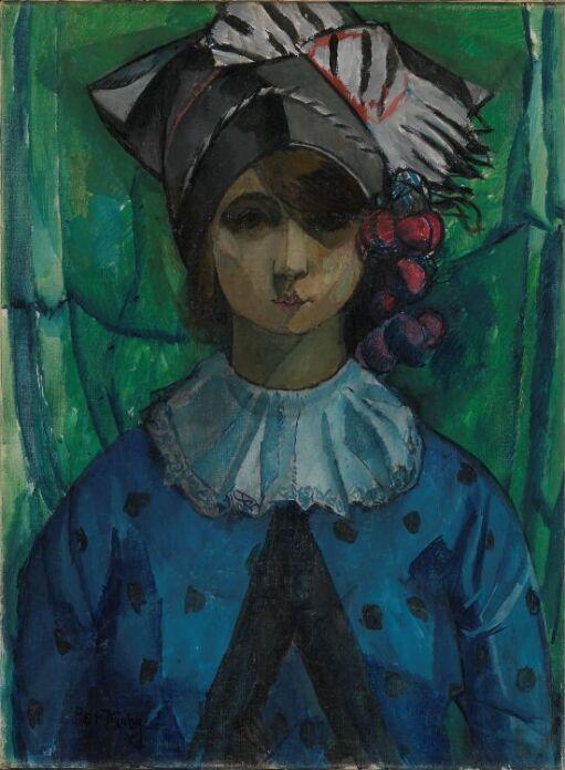 Lucy Vidil, kunstnerens første hustru