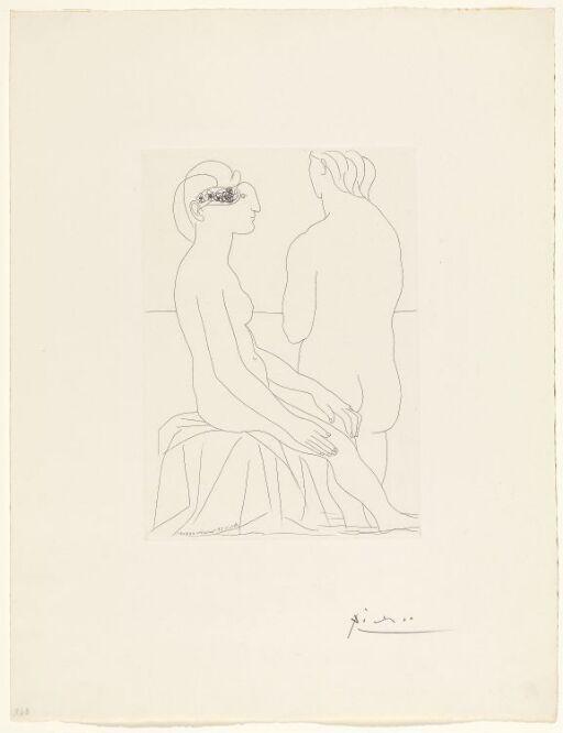 Kvinner i badet