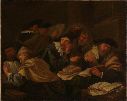 Forbannelsen leses i synagogen