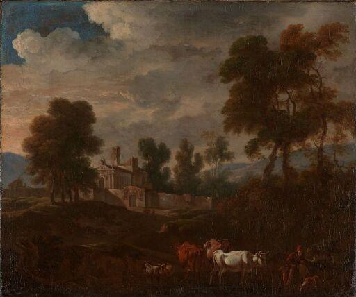 Italian Landscape with a Church