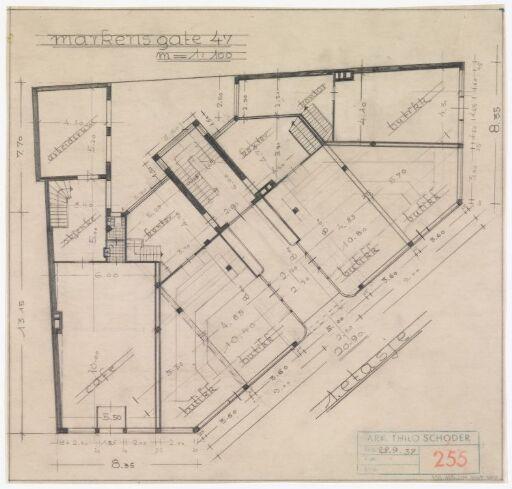 Ombygging av bygård for Sigurd N. Timenes