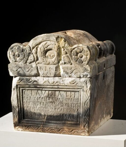 Cinerary urn of Claudia Maximilla