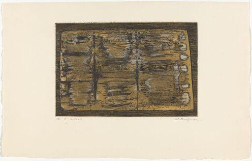 G 26-1958 Petit tombeau brun