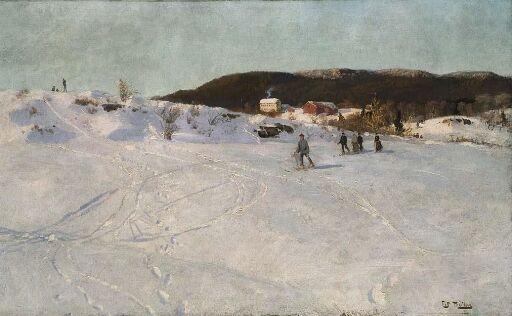 Vinter Vestre Aker