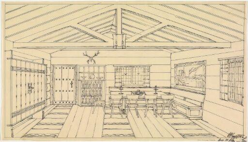 Tømmerstue til San Francisco-utstillingen 1939