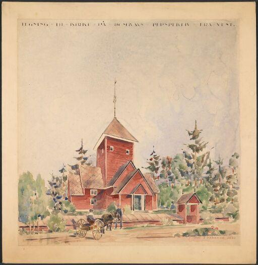 Dombås kirke og forsamlingshus