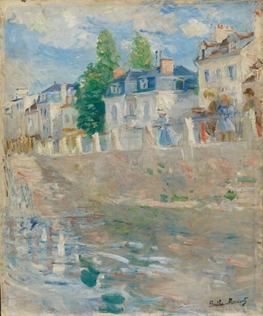On the Banks of the Seine at Bougival