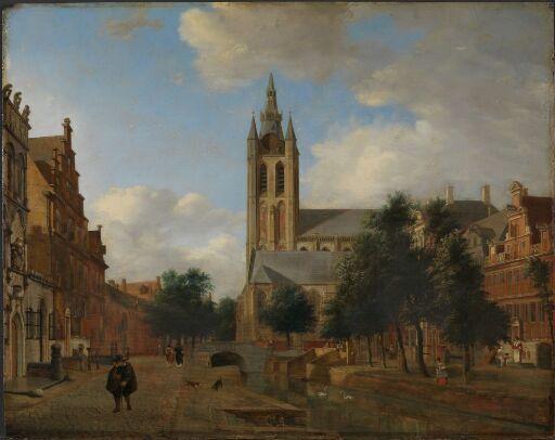 Den gamle kirken i Delft