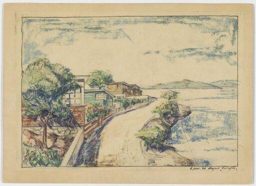 Villabebyggelse ved sjø