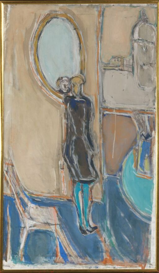 Dame og speil II