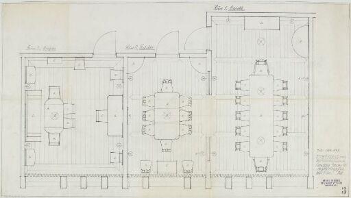 Møbleringsplan for Storebrands representasjonsrom