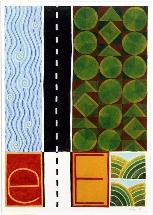 E (ill. til God dag, ABC med lesebok, Oslo 1988)