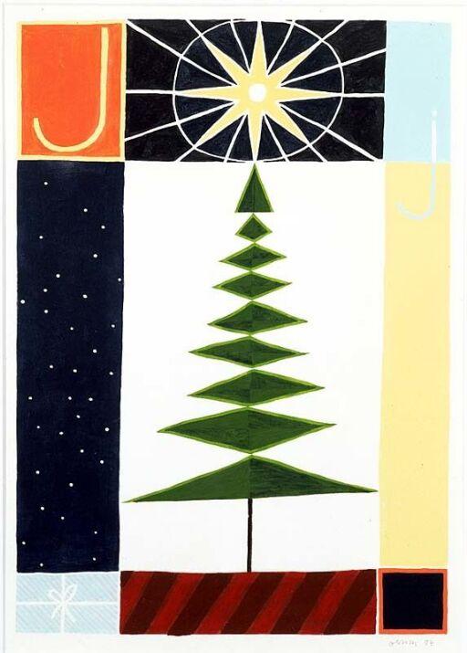 J (ill. til God dag ABC med lesebok, Oslo 1988)