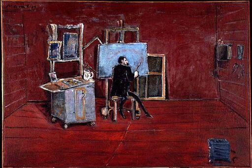 Det røde atelieret