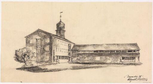 Herredshus for Nord-Fron kommune på Vinstra