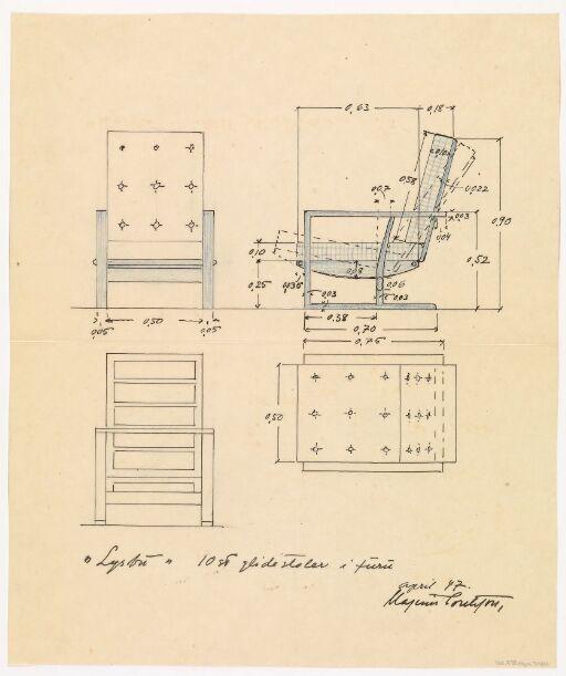 Møbler for Lysebu