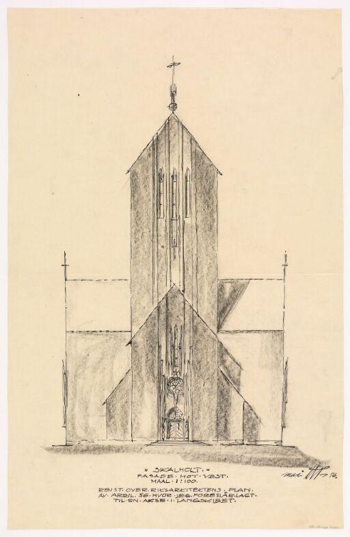 Kirkeanlegg på Skalholt