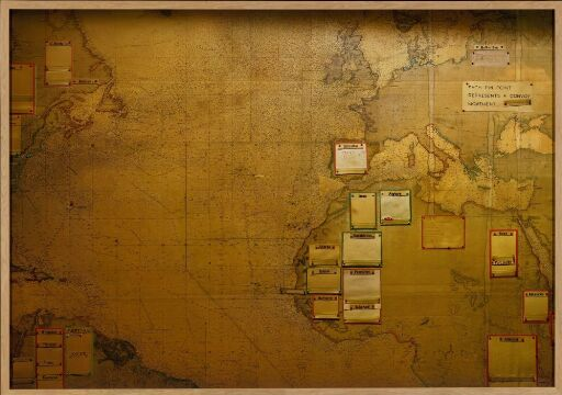 Imperial War Museum, The Map Room, London