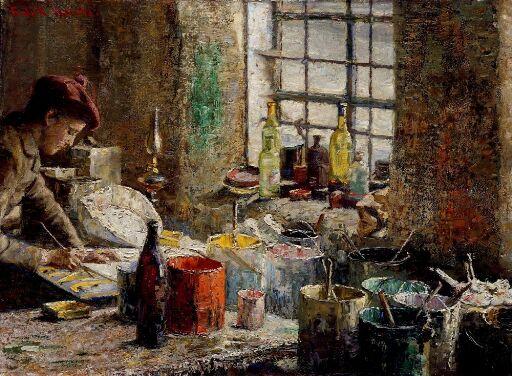 The Painter's  Workshop