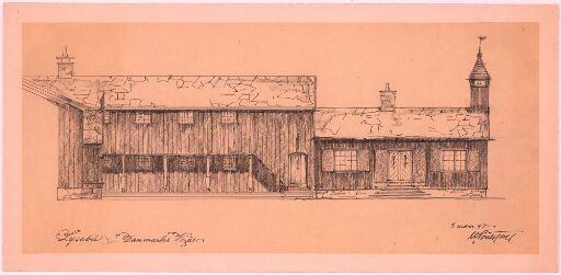 Lysebu. Danmarks hus