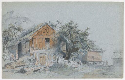 På gården Helland i Hardanger