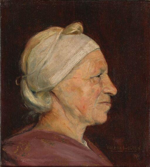 Kvinne i profil