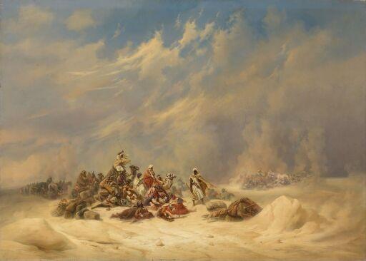 Karavane i sandstorm